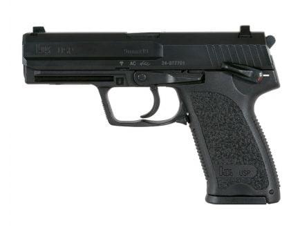 HK USP9 V1 10 Round 9mm Pistol, Black