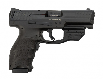 "HK VP9-B 9mm Pistol 17rd 4.1"" w Green Laser"