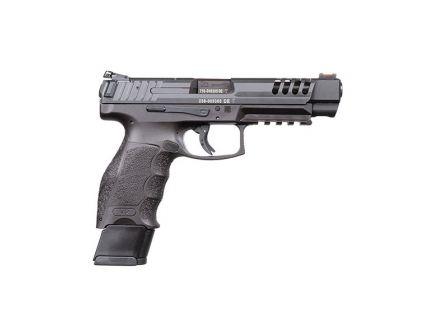 HK VP9L-B 9mm Pistol With Night Sights, Blue Hostile Environment