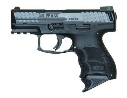 HK VP9SK 13 Round 9mm Pistol With Night Sights, Black