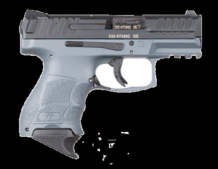 HK VP9SK Sub-Compact 9mm Pistol, Gray - 81000649