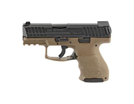 HK VP9SK 9mm Pistol With Night Sights, FDE