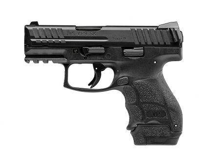 """HK VP9SKB 3.39"""" 9mm Pistol, Black"""