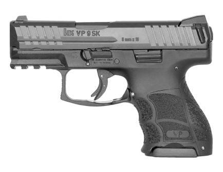 HK VP9SK Subcompact 9mm Pistol, Black