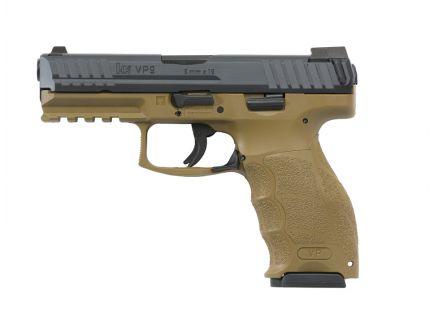 HK VP9 9mm Pistol w/ Night Sights, Flat Dark Earth