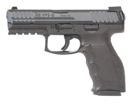 HK Pistol VP9-B 9mm 15 Round Pistol with Push Button Magazine Release – 81000261