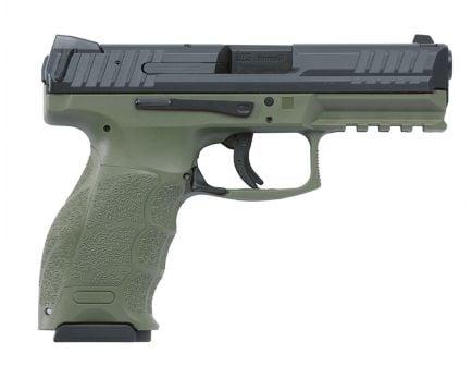 HK VP9 pistol 9mm OD Green Pistol (2X15RD MAGS)
