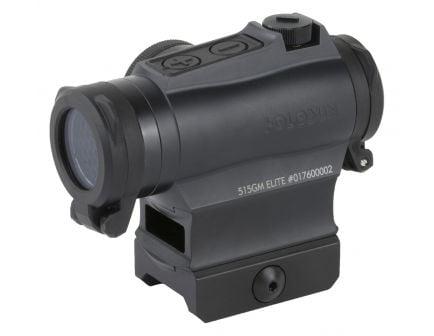 Holosun HE515GM 2 MOA Micro Solar Green Dot Sight With Shake Awake