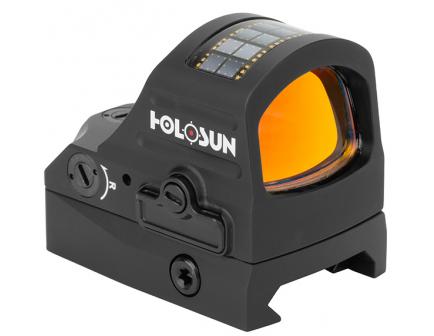 Holosun HS407CO X2 8 MOA Solar Reflex Sight, Black