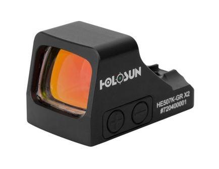 Holosun Mini Open Reflex Green Dot Sight, Black