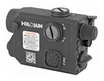 Holosun Red Laser With IR Laser And Illuminator, Black