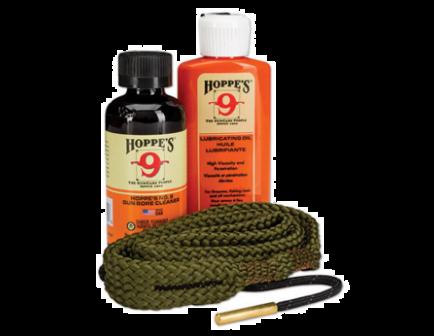 Hoppe's 1.2.3 Done!, 40 Caliber, 10mm Pistol Cleaning Kit - 110040