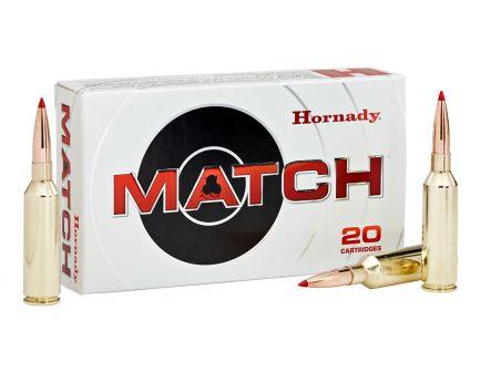 Hornady Match 108 gr ELD 6mm ARC Ammunition, 20 Rounds