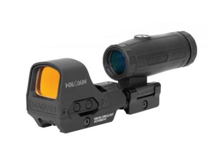 Holosun HS510C 2MOA Red Dot Reflex Optic & HM3X Magnifier Combo
