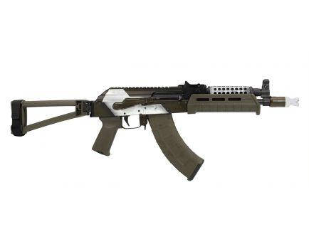"PSA Custom AK-P ""2K12 Kub"" MOE Triangle Side Folding Pistol w/ Cheese Grater"