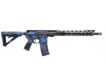 """PSA Custom """"Boxcar Blackout"""" 16"""" Pistol-Length 300AAC Blackout 15"""" Slant MLOK Rifle"""