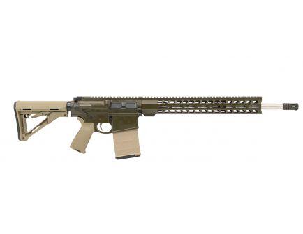 "PSA Custom Gen3 PA10 18"" Mid-Length .308 WIN 1/10 Stainless 15"" Lightweight M-Lok MOE Rifle w/ 2-Stage FCG  - ODG & FDE"
