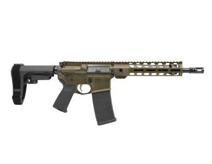 """PSA Custom 10.5"""" Carbine-Length 5.56 NATO 1/7 Nitride Lightweight M-Lok MOE EPT SBA3 Pistol - ODG"""