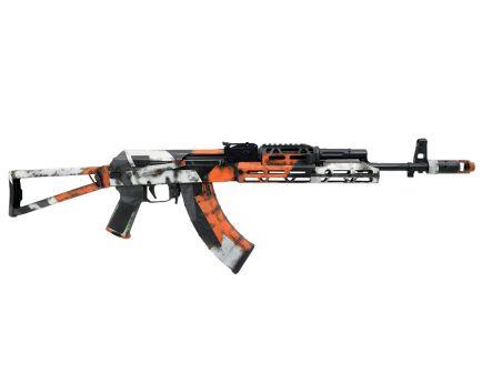 "PSA Custom PSAK-103 ""Orange Team"" 7.62x39mm Triangle Side Folding Rifle w/ ALG Trigger & JL Billet Extended Rail"