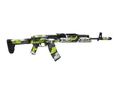 "PSA Custom PSAK-74 ""Green Team"" 5.45X39mm MOEKOV Side Folder Rifle w/ ALG Trigger & JL Billet Extended Rail"