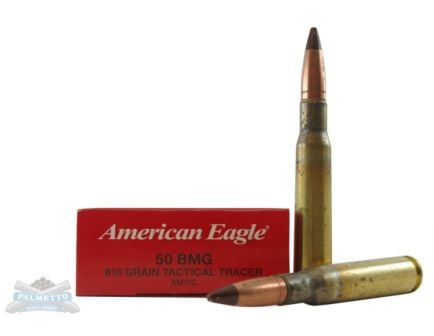 Federal 50 BMG 618gr Tactical Tracer Ammunition 10rds - XM17C