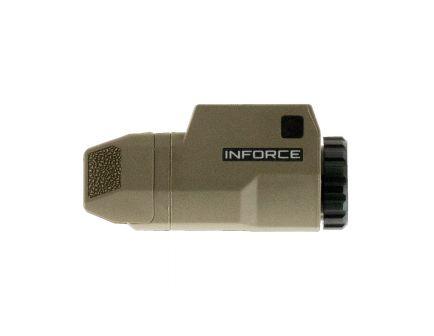 Inforce APLc Glock Compact Pistol Light, Flat Dark Earth