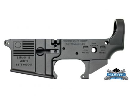 "PSA Betsy Ross AR-15 ""I STAND-15"" Stripped Lower Receiver *Preorder Item (4-6 Weeks Delivery)"