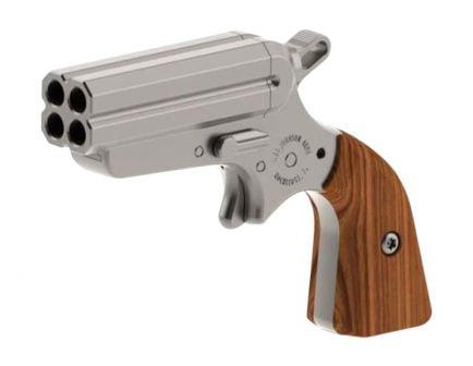 Iver Johnson Arms Pocket Ace OW 4 Barrel .22 LR Derringer | Stainless