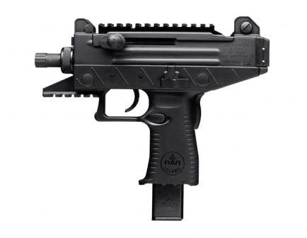 """IWI Uzi Pro 4.5"""" Threaded Barrel 9mm Pistol, Black"""