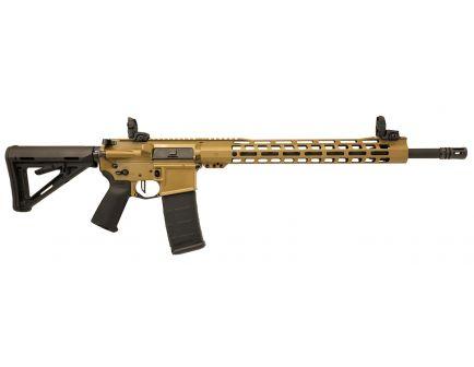 "PSA Custom 18"" CHF .223 Wylde 1/8 15"" Slim-Line MLOK MOE Rifle w/ 3.5lb Flat Bow FCG, Ambi Safety & MBUS Sight Set - Coyote"