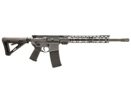 "PSA Custom 5.56 NATO 16"" Carbine Length  1/7 Nitride 12"" M-LOK MOE Rifle w/ 3.5lb Curved FCG & Ambi-Safety - Grey"
