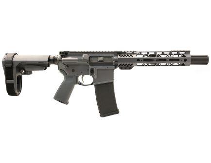 "PSA Custom 5.56 NATO 8.5"" 1/7 Nitride 9"" Cross-cut SBA3 EPT Pistol - Grey"