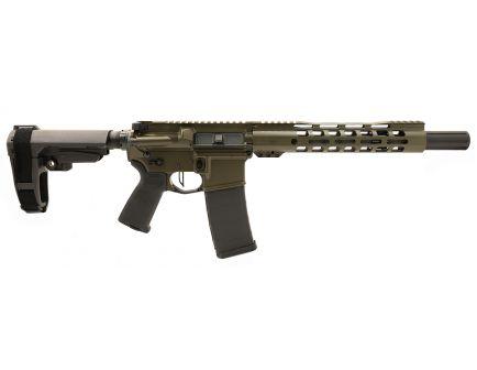 "PSA Custom 5.56 NATO 10.5"" CHF 1/7 10.5"" Slim-Line 3.5lb Flat Trigger, Ambi Safety & SBA3 Brace - ODG"