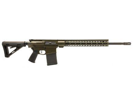 "PSA Custom Gen3 PA10 .308 Win 20"" Coated Stainless Rifle-Length 15"" Lightweight M-Lok 3.5lb Flat Trigger - ODG"
