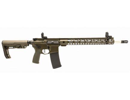 "PSA Custom .223 Wylde 18"" Rifle-Length  1/7 SS 15"" Lightweight M-LOK MFT Rifle w/ Ambi Safety, MBUS & 3.5lb Flat FCG - ODG"