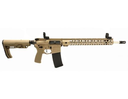 "PSA Custom .223 Wylde 18"" Rifle-Length  1/7 SS 15"" Lightweight M-LOK MFT Rifle w/ Ambi Safety, MBUS & 3.5lb Flat FCG - Coyote"