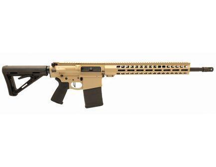 "PSA Custom Gen3 PA10 .308 Win 18"" Mid -Length .308 Win 1/10 Nitride 15"" Lightweight M-Lok MOE Rifle w/ 3.5lb Flat Trigger - Tan"