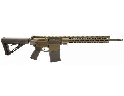 "PSA Custom Gen3 PA10 .308 Win 18"" Mid -Length .308 Win 1/10 Nitride 15"" Lightweight M-Lok MOE Rifle w/ 3.5lb Flat Trigger - ODG"