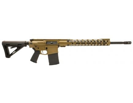 """PSA Custom Gen3 PA10 .308 WIN 20"""" 1/10 Coated Stainless 15"""" Slim-Line MOE Rifle w/ 2 Stage FCG - Coyote"""