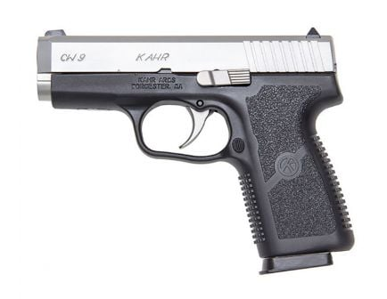 Kahr Arms CW9 9mm Pistol with Matte Stainless Slide, CA Compliant - CW9093