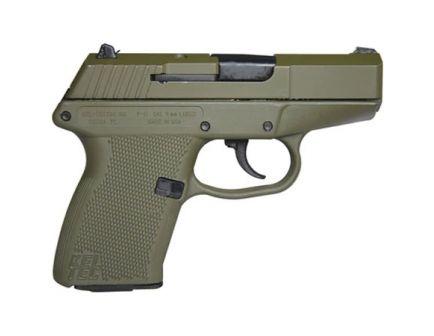 Kel-Tec P-11 9mm Pistol, Green - P11GRNGRN