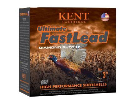 "Kent Cartridge Ultimate Fast Lead 12 Gauge 3"" 1 3/4 oz 5 Shot, 25 Rounds"