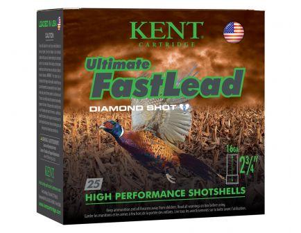 "Kent Ultimate Fast Lead 16 Gauge 2 3/4"" 1 oz 5 Shot 25 Rounds"