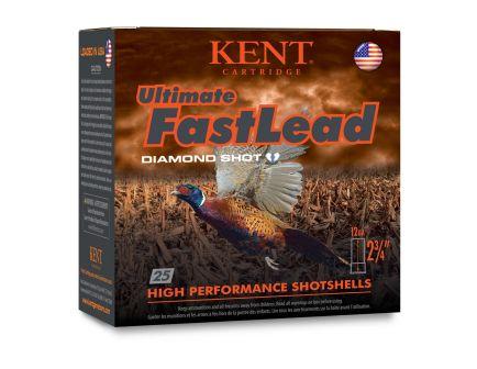 "Kent Cartridge Ultimate Fast Lead 12 Gauge 2 3/4"" 1 1/4 oz 6 Shot 25 Rounds"