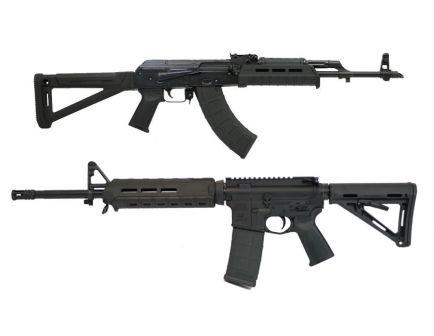 PSA MOE Freedom AR-15, Black & Blem PSAK-47 Liberty MOE Rifle, Black