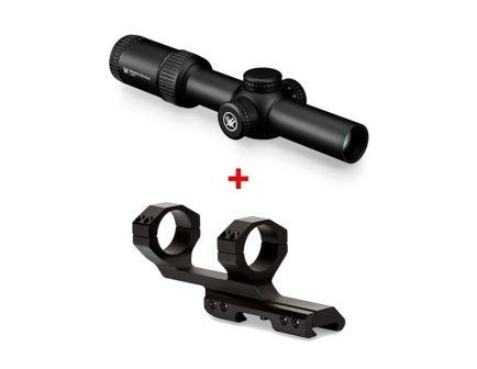 Vortex Strike Eagle 1-8x24mm Riflescope & Vortex Sport Cantilever 30mm Ring Mount