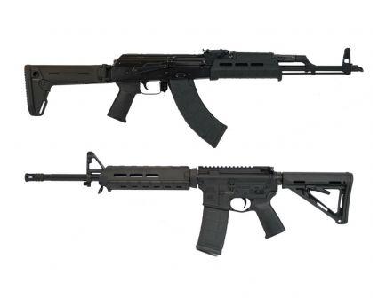 "Blem PSAK-47 GB2 Liberty ""MOEkov"" Black Rifle & PSA 16"" MOE Black Freedom Rifle Matching Serial Number Set"