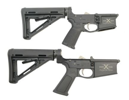 10th anniversary matching ar 15 complete lowers