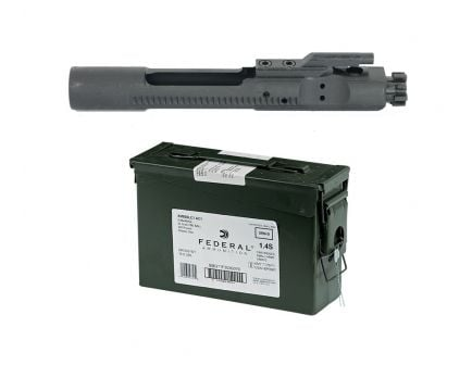 PSA 5.56 AR-15 Upper Full Auto Bolt Carrier Group & 420 Federal 5.56 Rounds