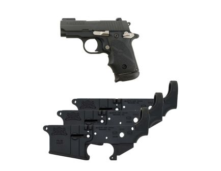 Sig Sauer P238 Sports 12 .380 ACP Pistol & Three (3) PSA AR-15 Lowers Safe/Fire